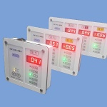 Digital Type Zone Medical Gas Alarm Unit